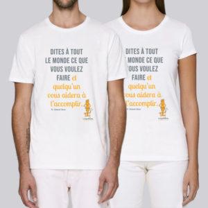 T-shirt : Clément Stone par l'Archipel homme / femme