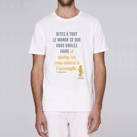 T-shirt : Clément Stone par l'Archipel pour homme